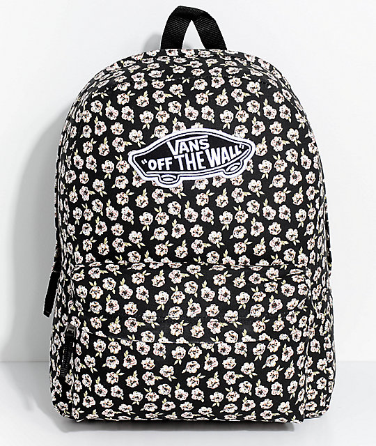 Vans Realm Fall Floral Backpack