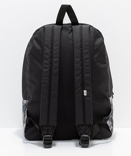 Vans Realm Floral Black 22L Backpack