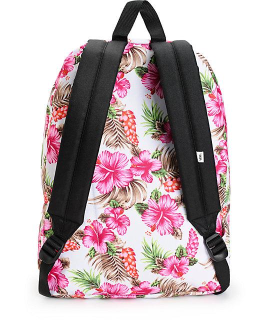 bff03a16e8 Vans Realm Hawaiian Natural Backpack  Vans Realm Hawaiian Natural Backpack  ...