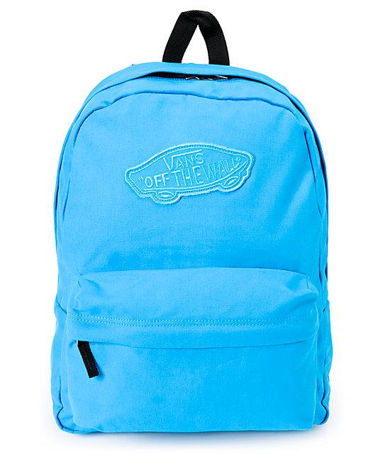 31d10febdd039 Vans Realm Jewel Blue Backpack