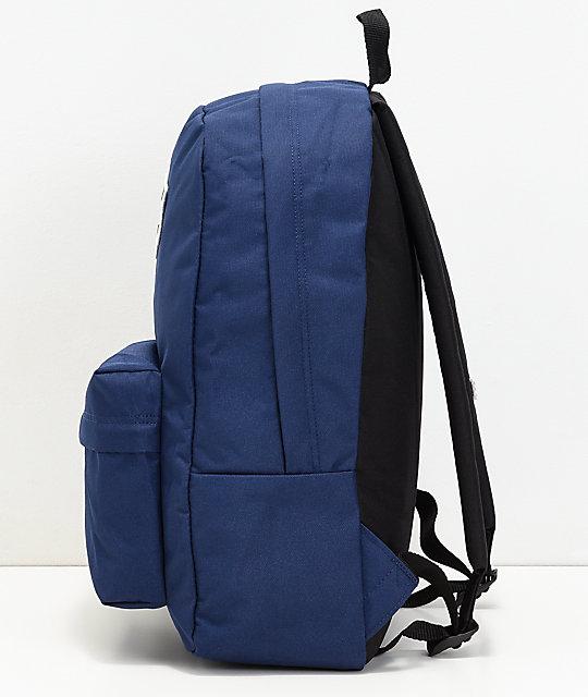 ... Vans Realm Medieval mochila azul ... a0c6c3251a5