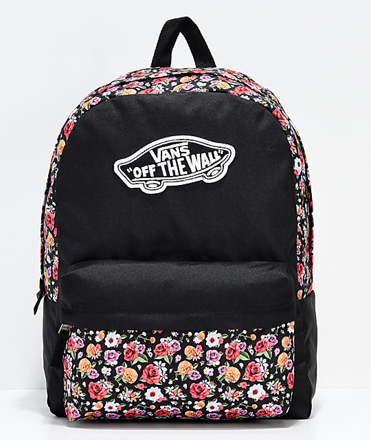 Vans Realm Mixed Floral Backpack