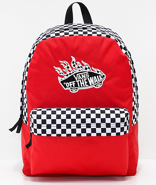 Outfits 10 Vans Flame Check Track Outfit and Backpack | Zumiez
