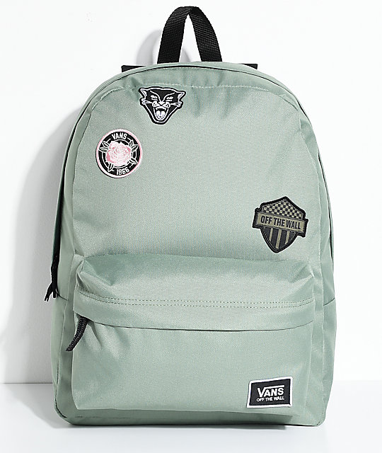 Vans Realm Sea Spray Patch 22L mochila