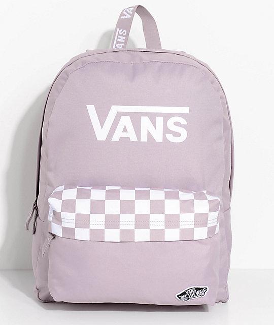 c485e2f04b Vans Realm Sporty Sea Fog 22L Backpack
