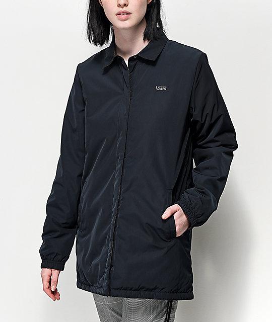 ee1be3fca Vans Reversible MTE Black & Camo Coaches Jacket