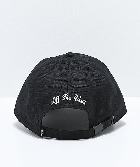 Vans Rose Black Strapback Hat