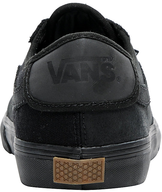 Vans Rowley All-Black Skate Shoes