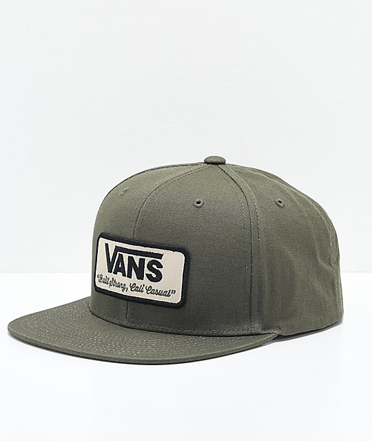 Vans Rowley Grape Leaf Snapback Hat