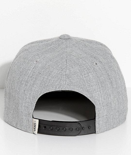 ... Vans Rowley Heather Grey Snapback Hat 49e0cbea9545