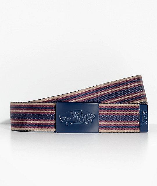 c7fab0da89 Vans Shredator Stripe Web Belt