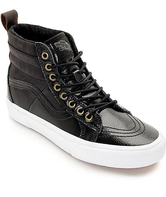 Vans Sk8 Hi 46 MTE Black Shoes Womens