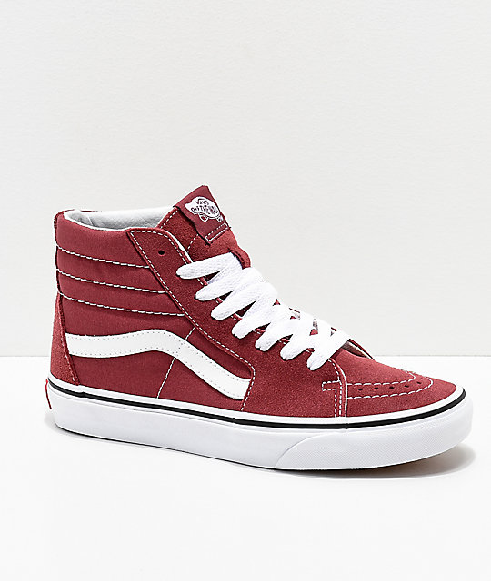 Vans SK8-HI - High-top trainers - apple butter/true white