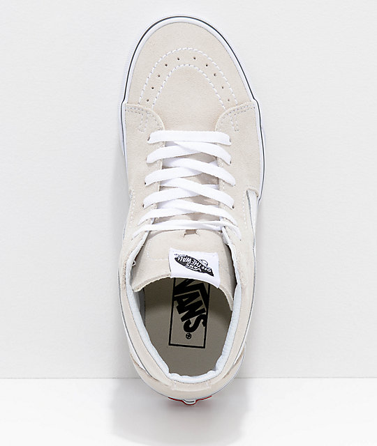 Vans Sk8-Hi Birch & True White Skate Shoes