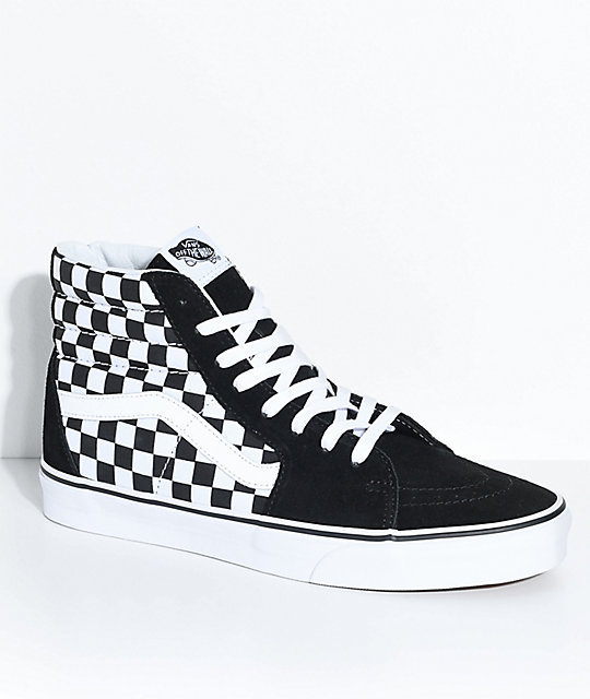 Vans Sk8-Hi Checkerboard Sneakers