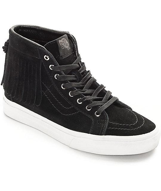 f0759cafcd Vans Sk8-Hi Black Moc Shoes (Women s)