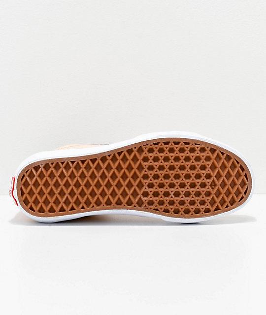 3668a38062 ... Vans Sk8-Hi Bleached Apricot   White Shoes
