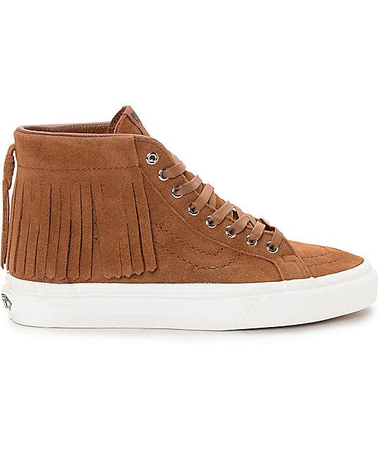 a10c6c5c84f ... Vans Sk8-Hi Brown Moc Shoes (Women s)