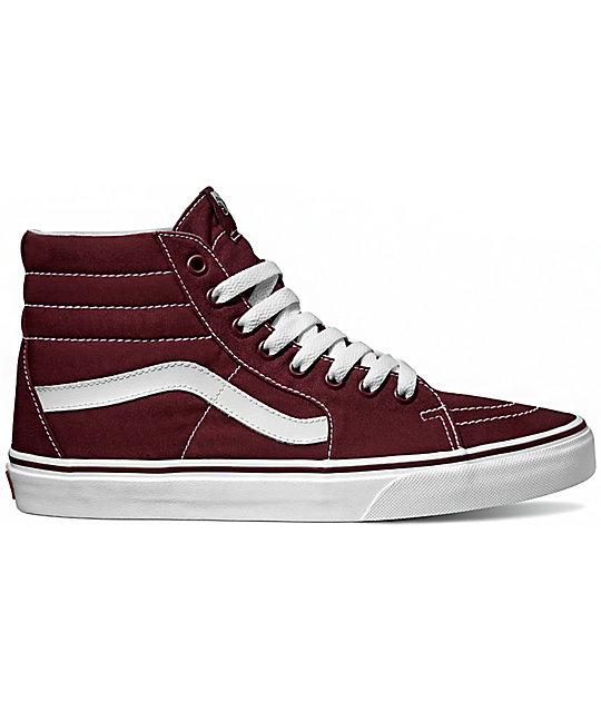 6279370899 Vans Sk8-Hi Canvas Port Royale Shoes