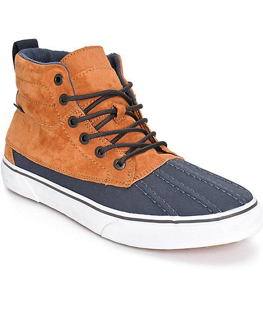 the sale of shoes sneakers for cheap diverse styles Vans Sk8-Hi Del Pato MTE Skate Shoes