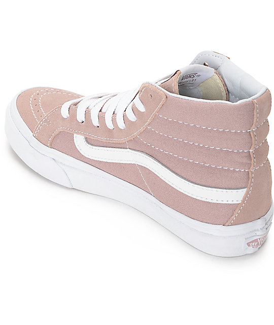Vans Sk Hi Fawn Mauve Womens Skate Shoes