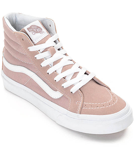 Milton Hi, Womens Low-Top Sneakers Vans
