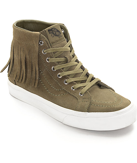 khaki vans shoes women