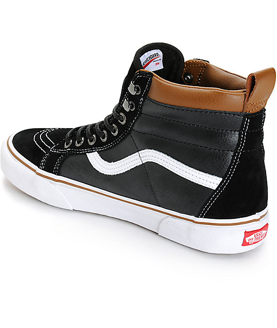 Vans Sk8-Hi MTE Black & True White Shoes