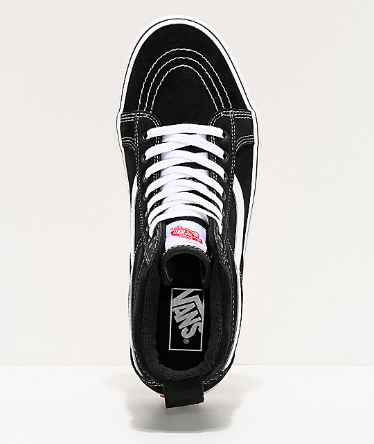 Vans Sk8-Hi MTE Black & White Shoes