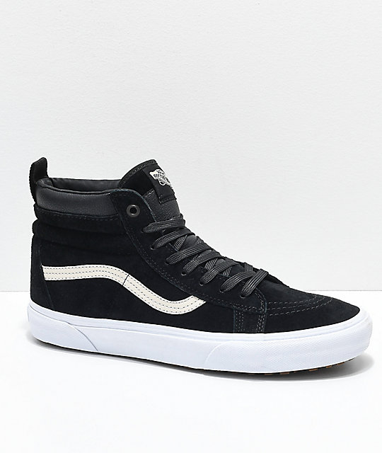 784883ddeaf7 Vans Sk8-Hi MTE Black Night Shoes