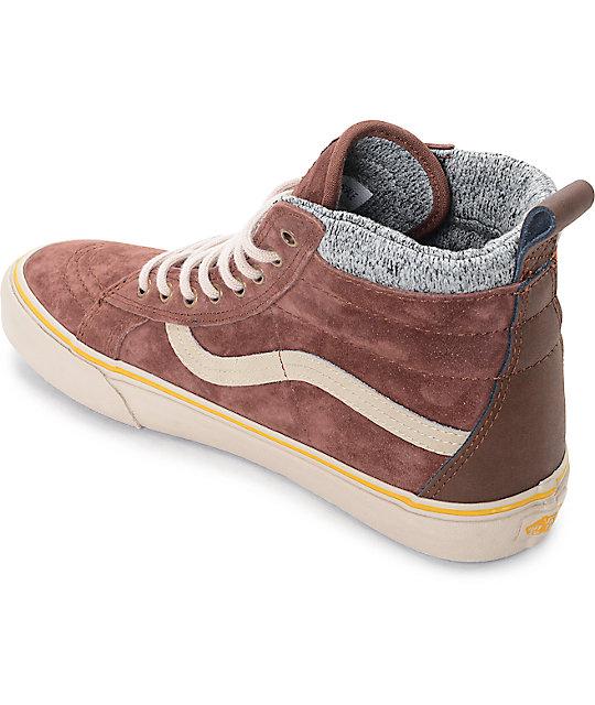 33fc0313f22 ... Vans Sk8-Hi MTE Cappuccino Hummus Shoes ...