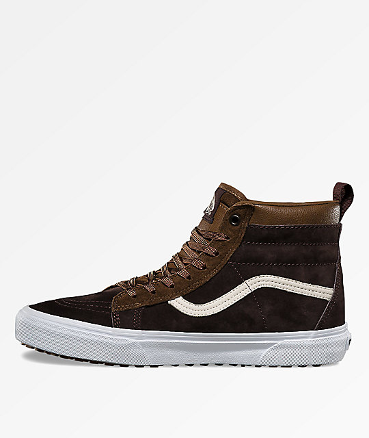 Vans Sk8 Hi MTE dark earthseal brown