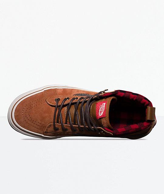929cd0d44c0df7 ... Vans Sk8-Hi MTE Glazed Ginger   Marshmallow Shoes ...