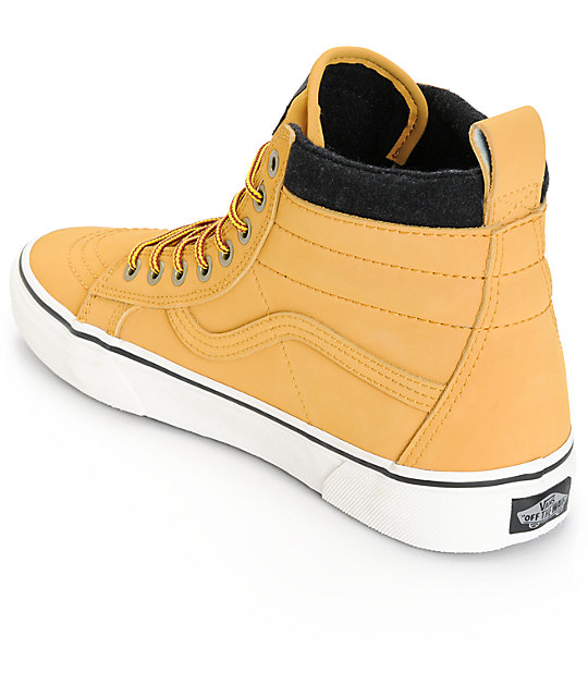 ef5478a4f6939a ... Vans Sk8-Hi MTE Leather Skate Shoes ...