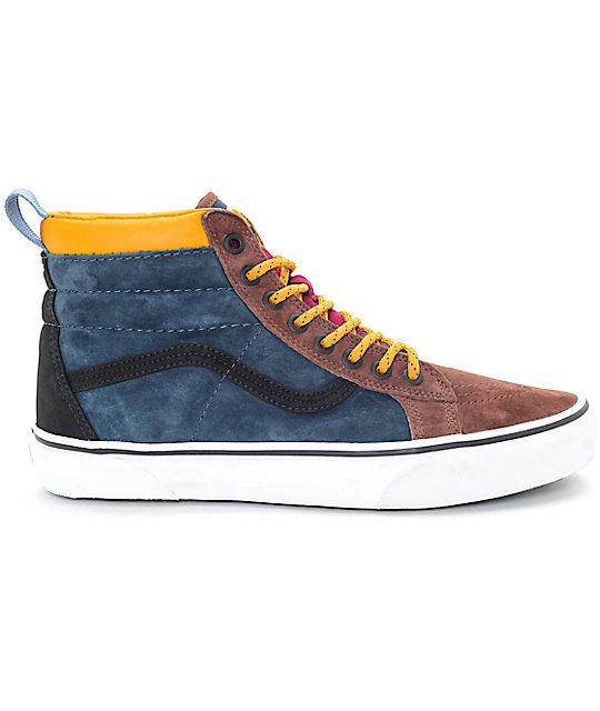 173b7273d091b0 ... Vans Sk8-Hi MTE Multi Cappuccino Skate Shoes