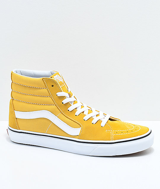 2zapatos vans amarillos
