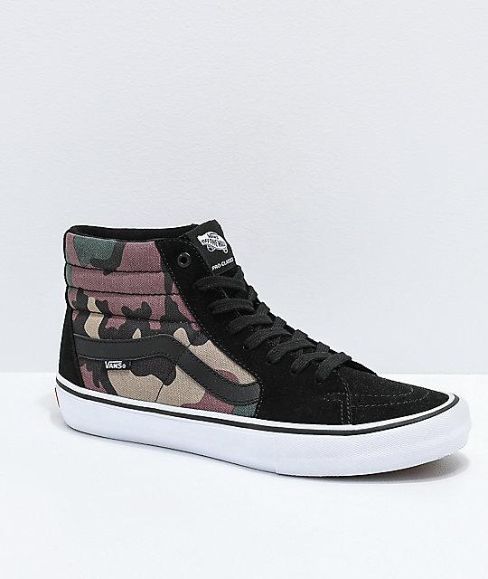 vans shoes camo