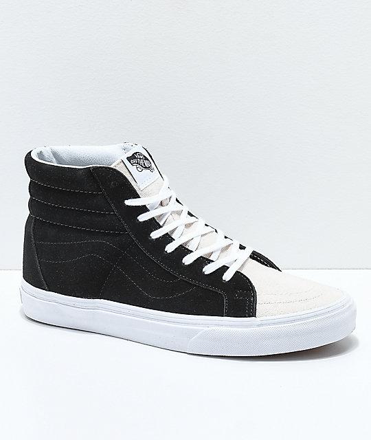 Vans Sk8 Hi Reissue Calzado 10,0 black/white