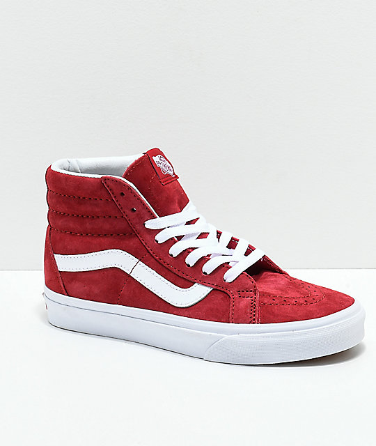 Vans Sk8-Hi Scooter   True White Skate Shoes  6ed99667e