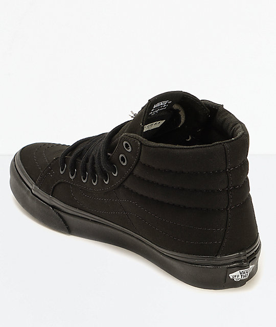 Vans Sk8-Hi Slim Black Shoes