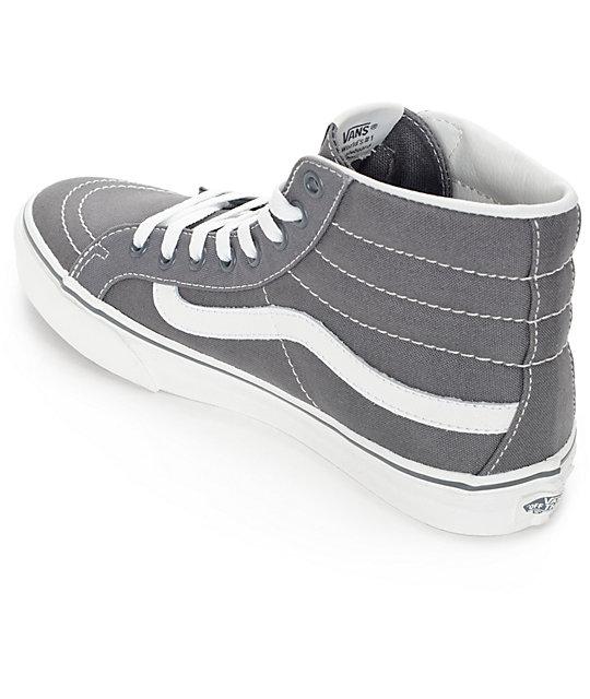 694bc1be92a4d ... Vans Sk8 Hi Slim Castlerock Shoes ...