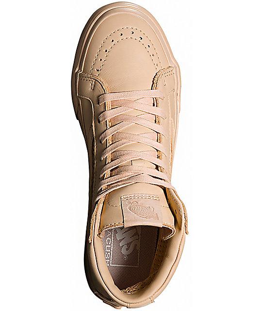 93496d403c ... Vans Sk8-Hi Slim Cutout DX Amberlight Shoes ...