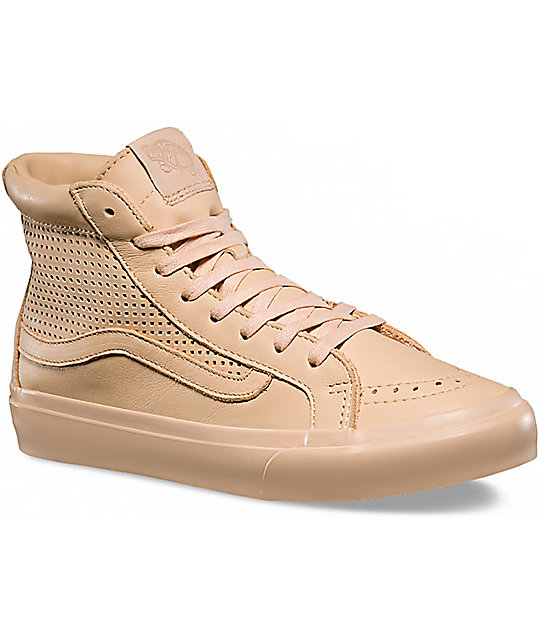 ea0b7779e0 Vans Sk8-Hi Slim Cutout DX Amberlight Shoes
