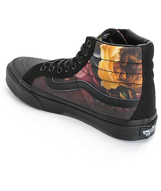 ce439f6ec6 ... Vans Sk8-Hi Slim Ombre Floral Shoes ...