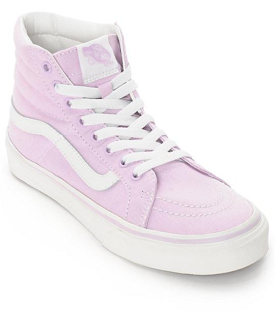 bdb4b2aec4fa Vans Sk8-Hi Slim Winesome Orchid Pink Shoes