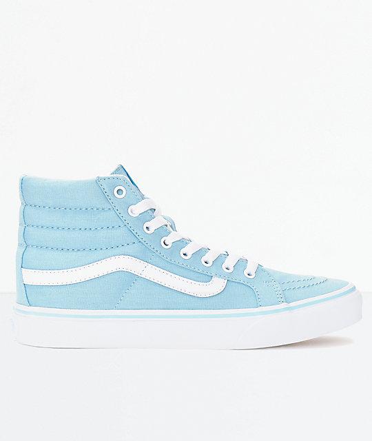 vans azul pastel