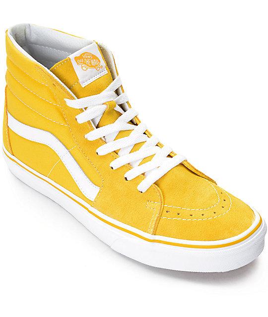 Sk8 Hi Calzado amarillo Vans VqYjcTDv6F