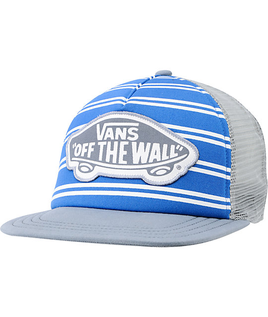 Vans Skimmer Blue & Grey Trucker Hat
