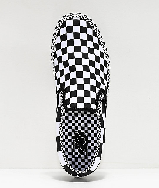Vans Slip-On Allover zapatos de skate de cuadros
