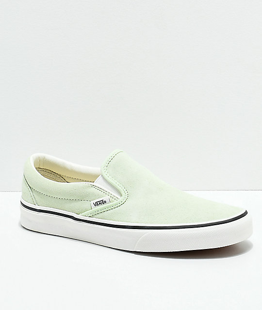 Vans Slip-On Ambrosia & True White Skate Shoes